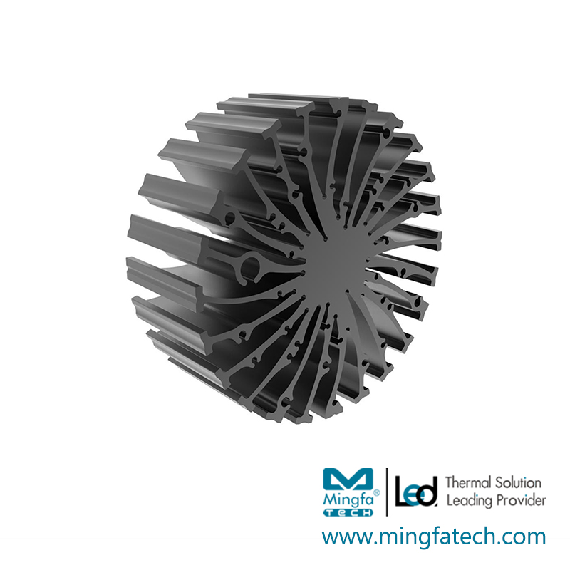 Mingfa Tech-EtraLED-13020130401305013080 cylindrical extruded aluminum heatsink