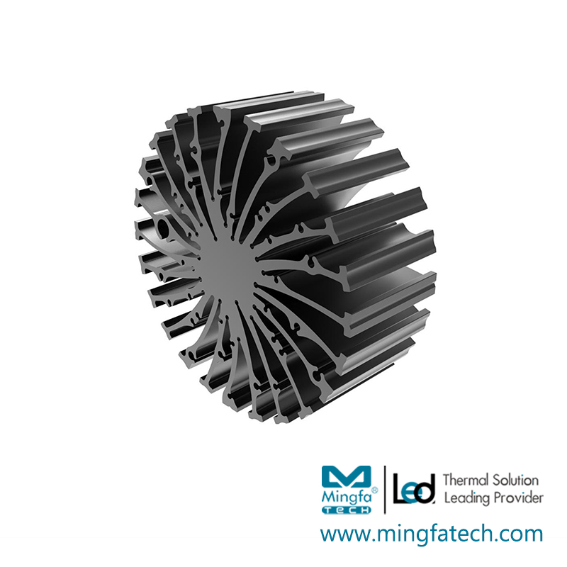 Mingfa Tech-EtraLED-13020130401305013080 cylindrical extruded aluminum heatsink-1