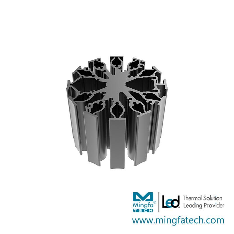 FanLED-7020/7050/7080 aluminum custom heatsink manufacturer