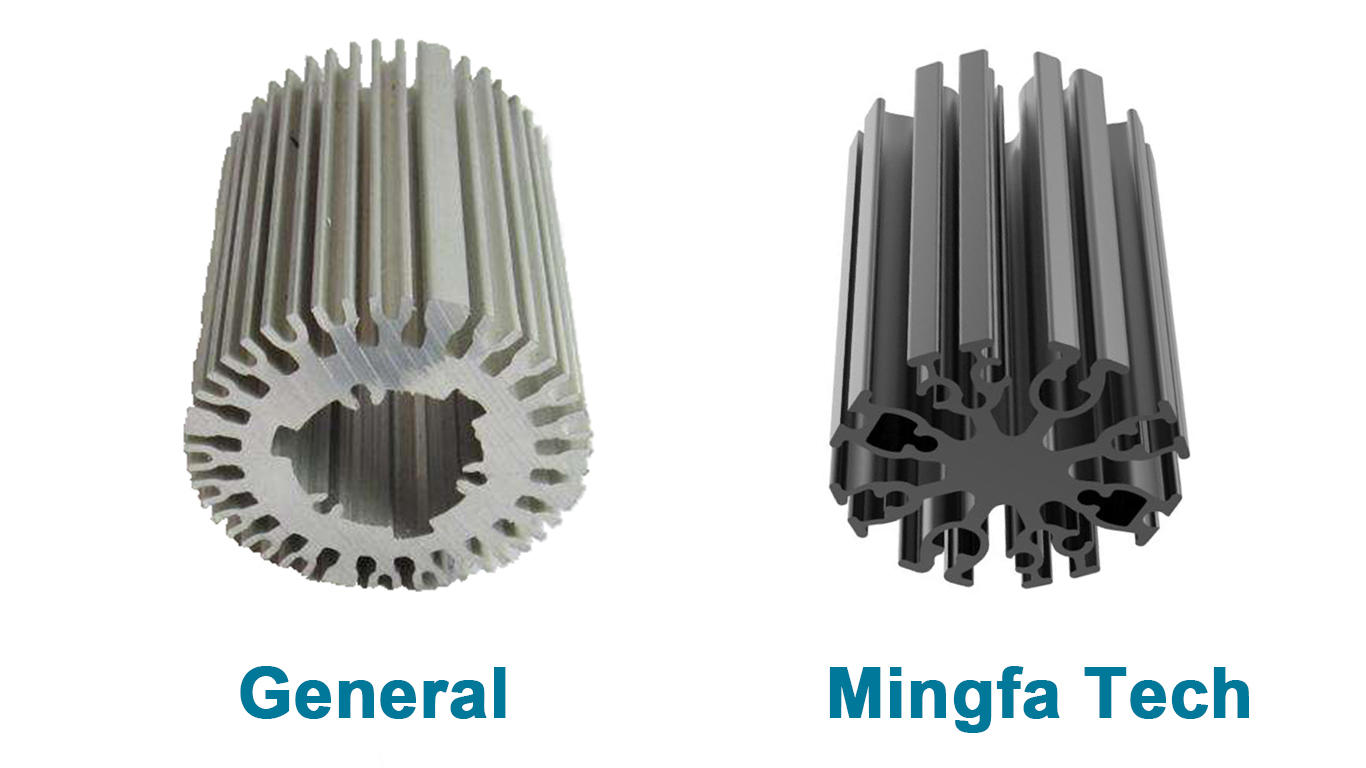 Mingfa Tech star heatsink and fan customize for healthcare