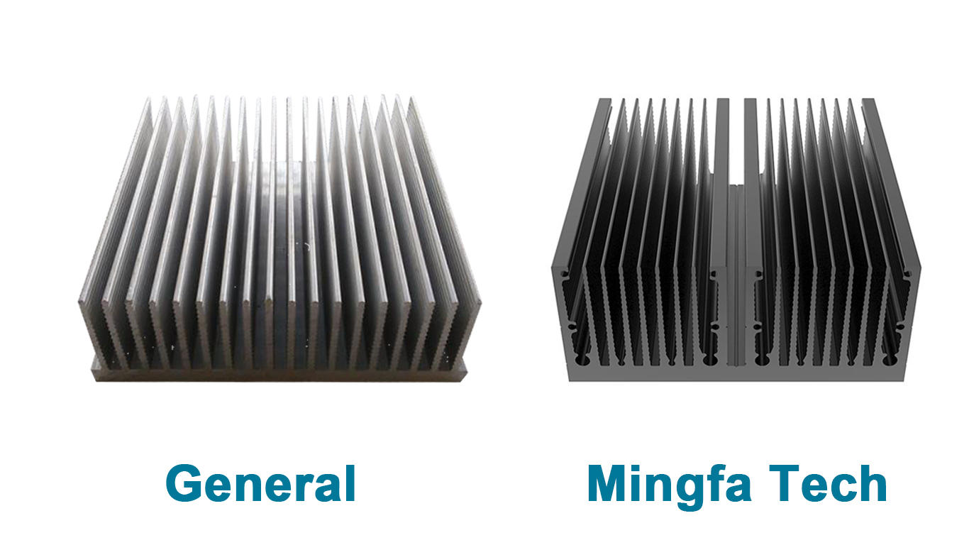 Mingfa Tech CNC machining aluminum heatsinks manufacturer for retail