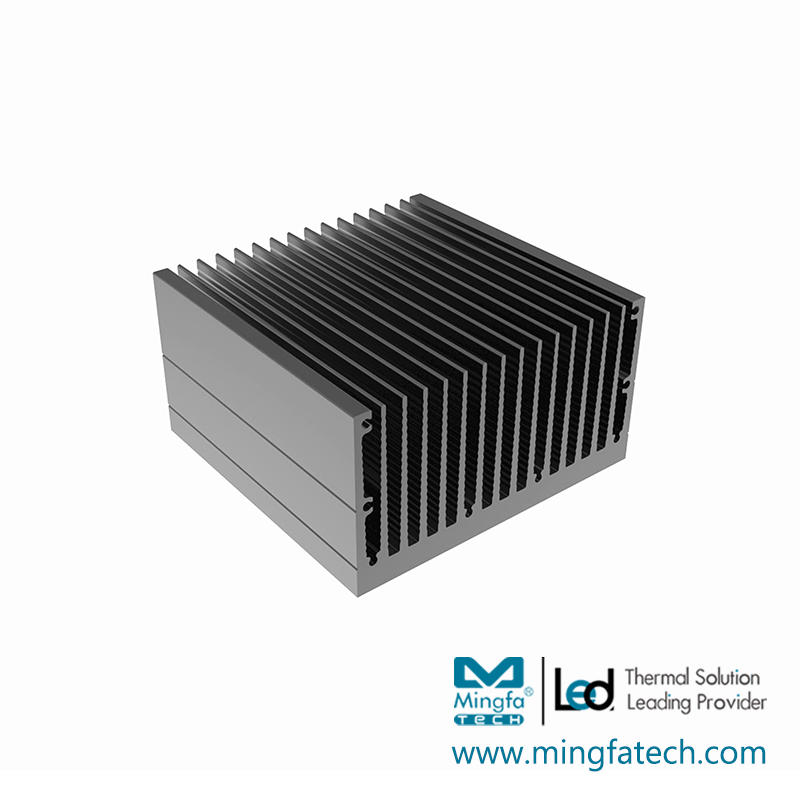tLED-92×90×30/92×90×50 square heat sink extruded aluminium heatsink