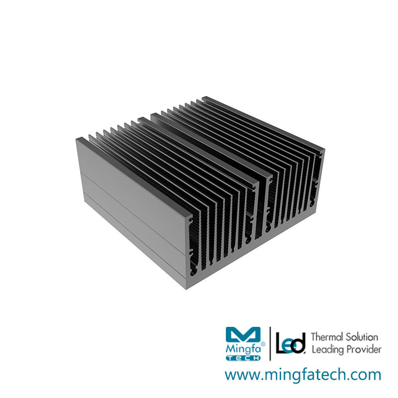 Mingfa Tech tled190×70×30190×70×50 aluminum heatsinks design for retail