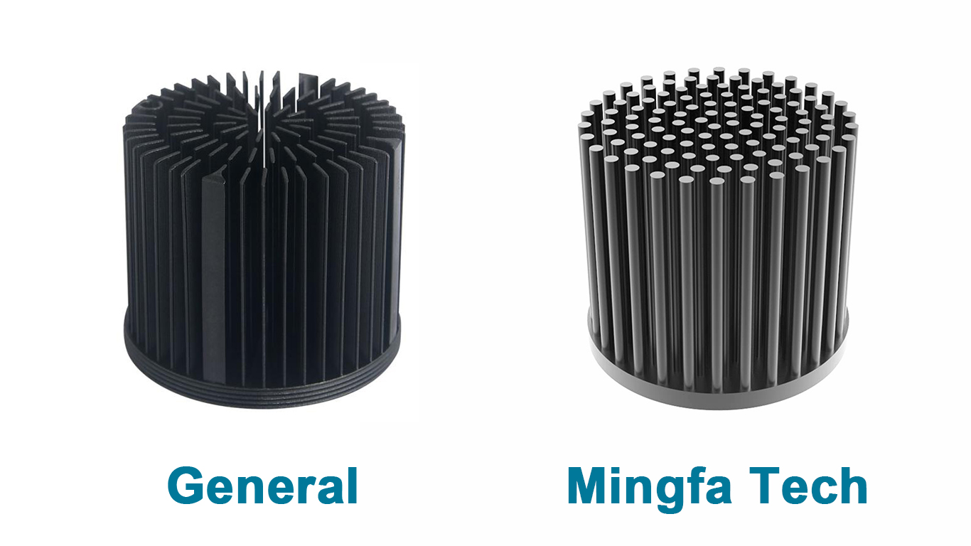 Mingfa Tech-Led Heatsink Housing | Gooled-6830685068606880 Passive Pin Fin-4
