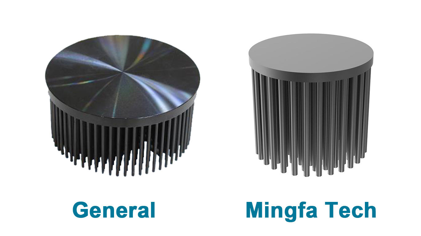 Mingfa Tech flat led light heat sink fin for retail