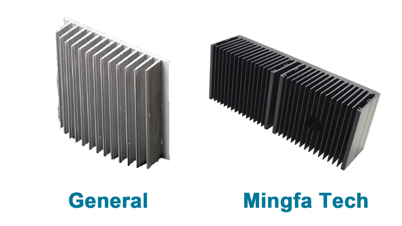 metal stamping aluminum heatsinks aluminum manufacturer for retail
