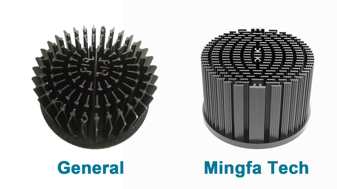 Mingfa Tech metal stamping heat sink applications manufacturer for horticulture-5