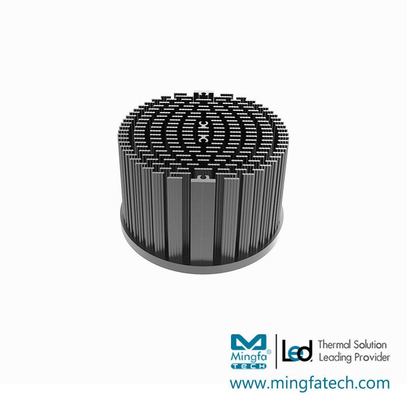 xLED-8030/8050 Pin fin aluminum heat sink