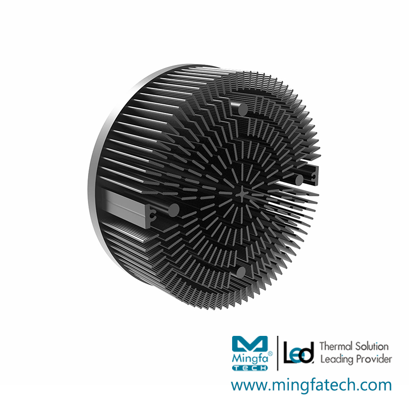 product-metal stamping heat sink size pinfin manufacturer for horticulture-Mingfa Tech-img