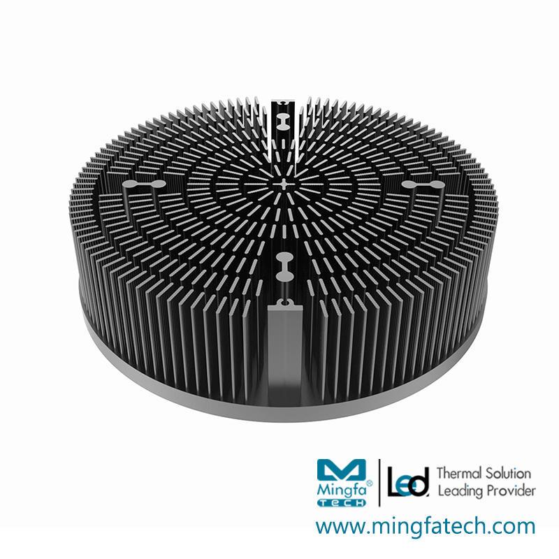 xLED-22530/22560/225100 led  pinfin AL1070 light heatsink
