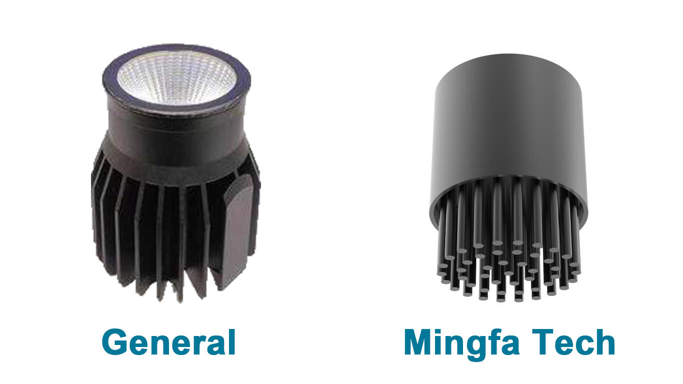 Mingfa Tech extrusion remodeling recessed light housing kit for healthcare