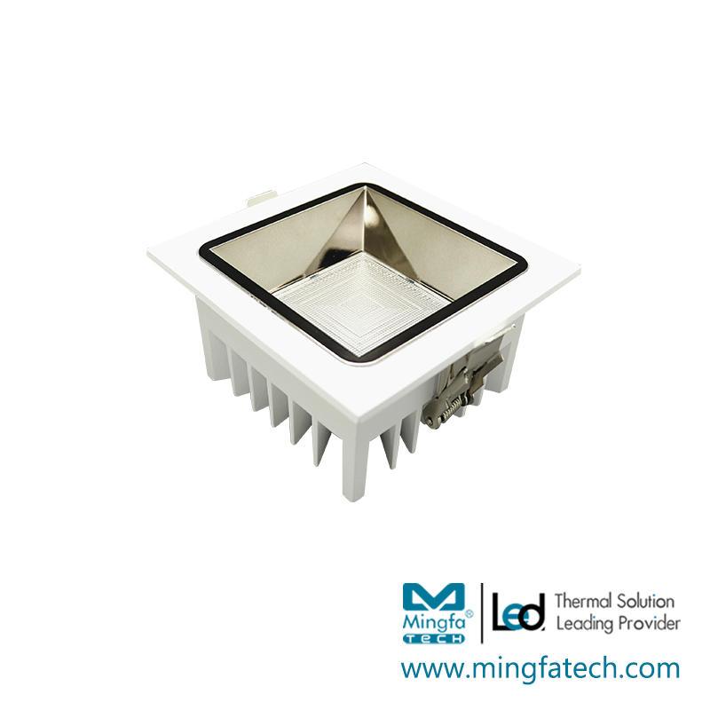 Quartet-3001F/4001F/5001F/6001F led ADC12 lamp housing