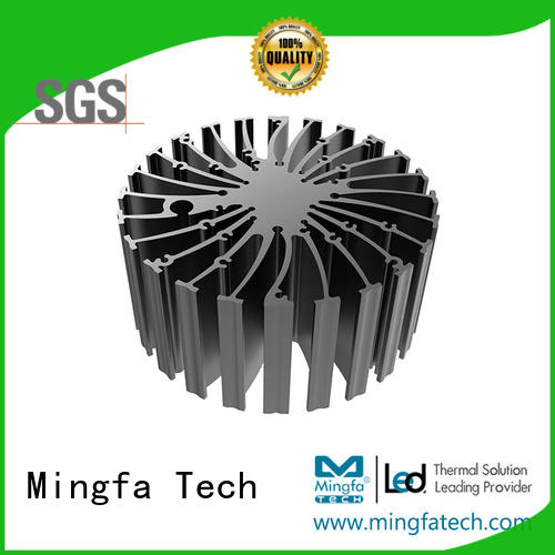 Mingfa Tech etraled702070507080 heat sink material design for mall