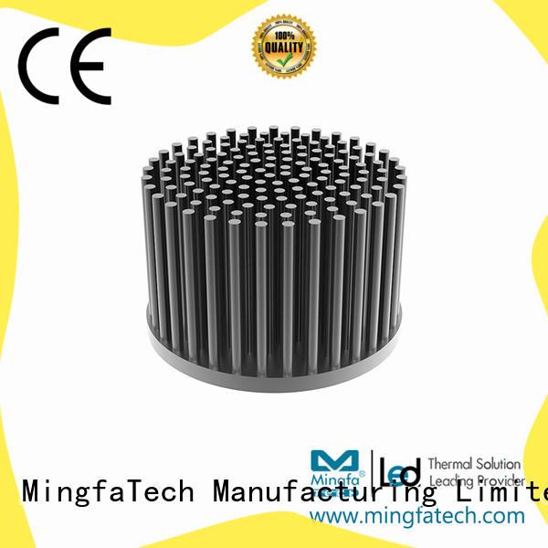 Mingfa Tech cob heatsink aluminium manufacturer for retail