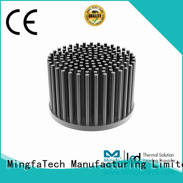 Mingfa Tech residential circular heat sink anodized for office