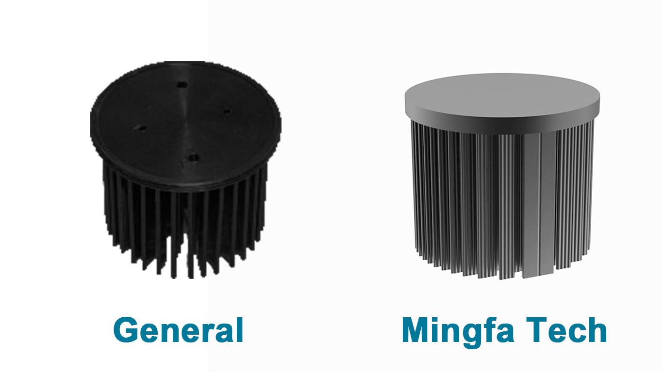 Mingfa Tech-Manufacturer Of Large Aluminum Heat Sink Xled-60306050 Smd Led Heat Sink-1