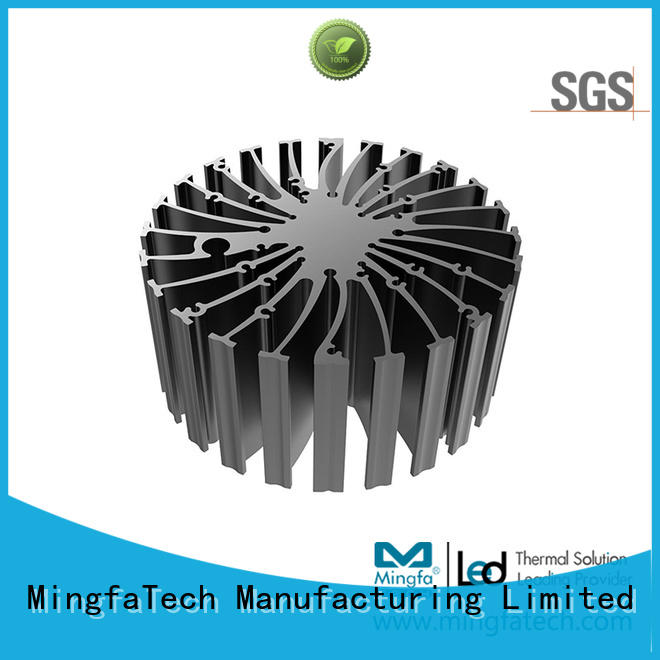 cooler heat sink material extruded for airport Mingfa Tech