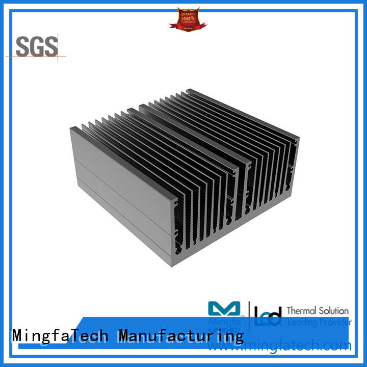 passive aluminum heatsinks extruded manufacturer for parking lot
