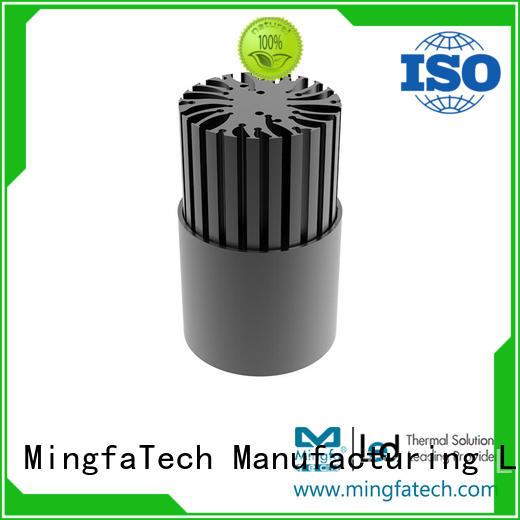 aluminum fixture can light housing heatsink Mingfa Tech Brand company