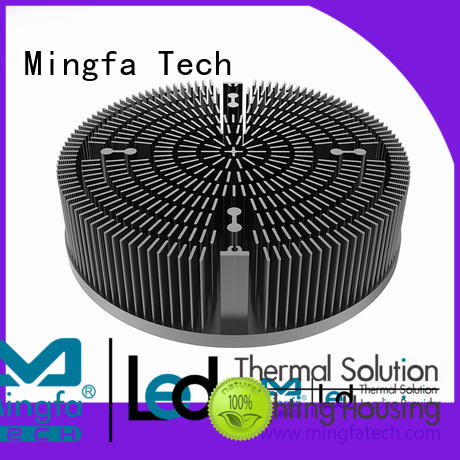 Mingfa Tech CNC machining cooling module design for education
