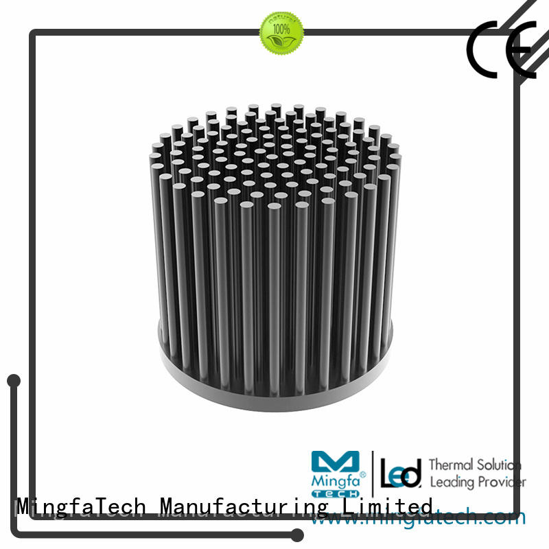 Mingfa Tech standard 10w led heatsink manufacturer for parking lot