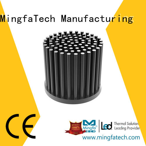 Mingfa Tech cob circular heat sink design for landscape