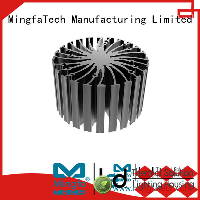 Mingfa Tech aluminum water cooled heat sink customize for station
