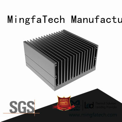 metal stamping natural convection heat sink design for retail Mingfa Tech