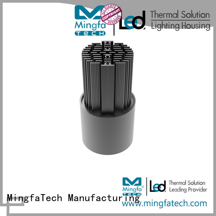 anodized remodeling recessed light housing extrusion manufacturer for healthcare