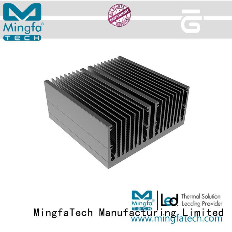 extruded lamp  aluminum large Mingfa Tech company