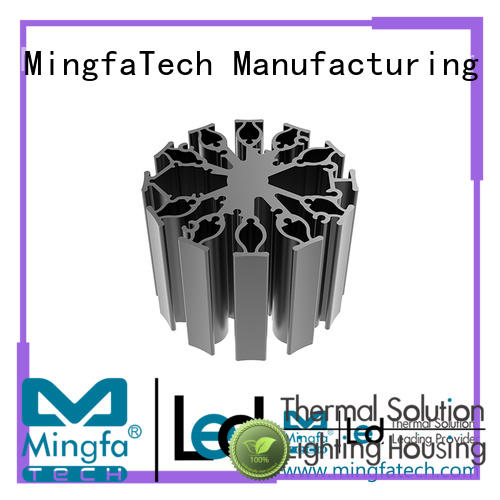 Mingfa Tech large heat sink size for 10w led passive for healthcare