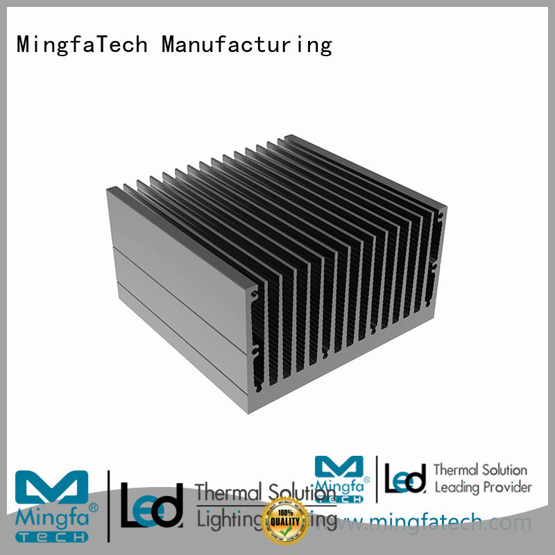 Mingfa Tech aluminum metal heat sink design for landscape