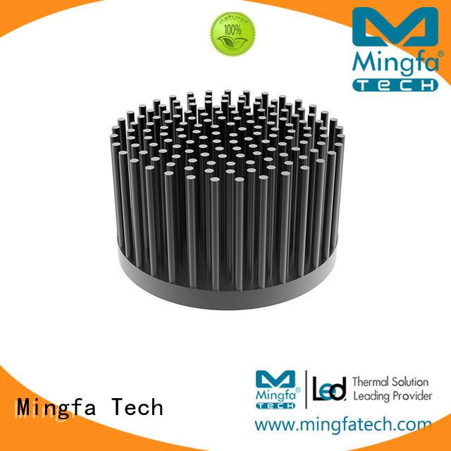 led light heat sink passive finned Warranty Mingfa Tech