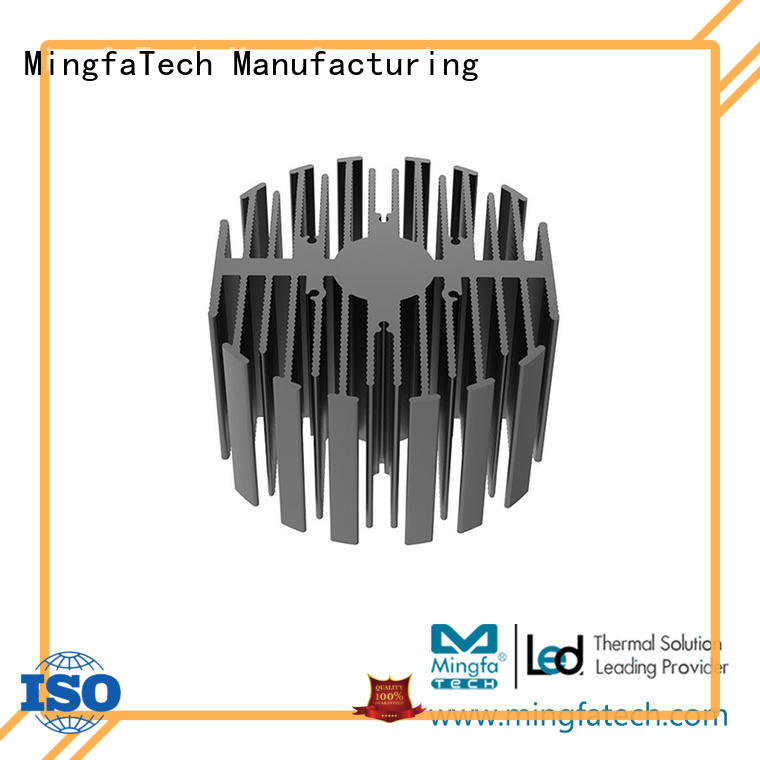 Mingfa Tech passive heat sink radiator heatsink for museums