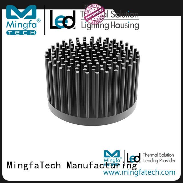 Mingfa Tech heatsink circular heat sink manufacturer for parking lot