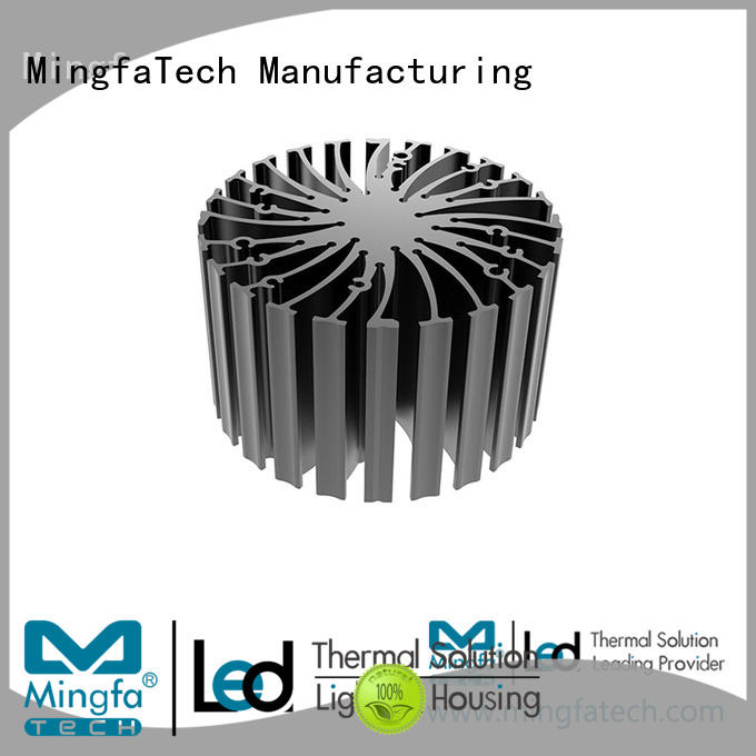 Indoorheat sink material extruded customize for mall