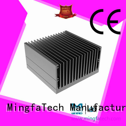 square heatsink extruded  Mingfa Tech manufacture