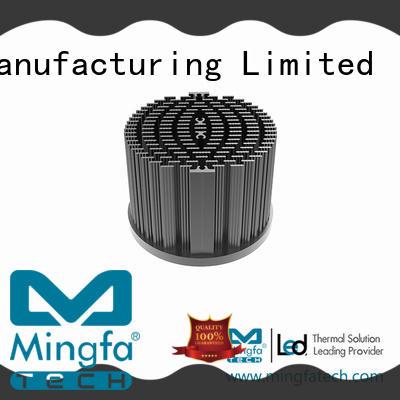 pin passive heat sink light Mingfa Tech company
