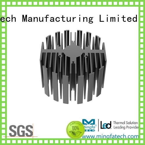 homemade heatsink eled70207030704070507080 for station Mingfa Tech