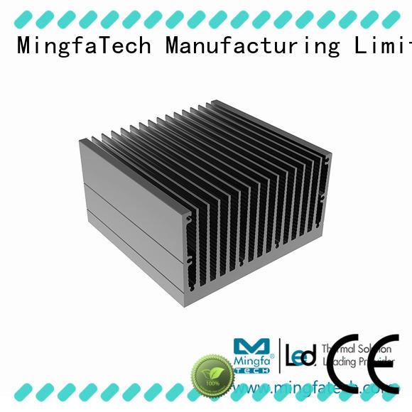 Mingfa Tech aluminum big heat sink design for retail