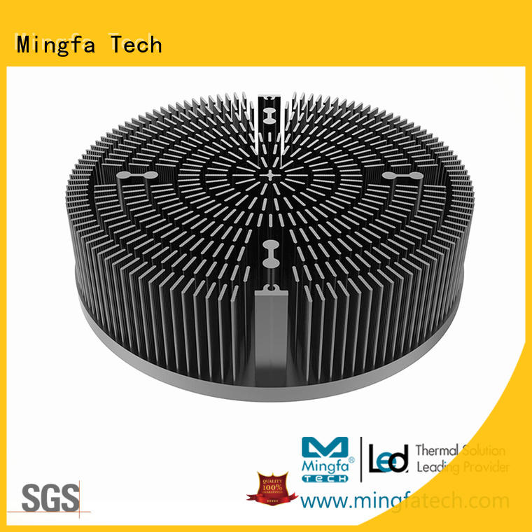 Mingfa Tech xled2253022560225100 large aluminum heat sink supplier for roadway
