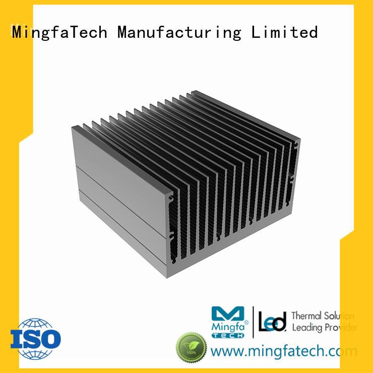 Mingfa Tech plating aluminum heat sink enclosure lamp for retail