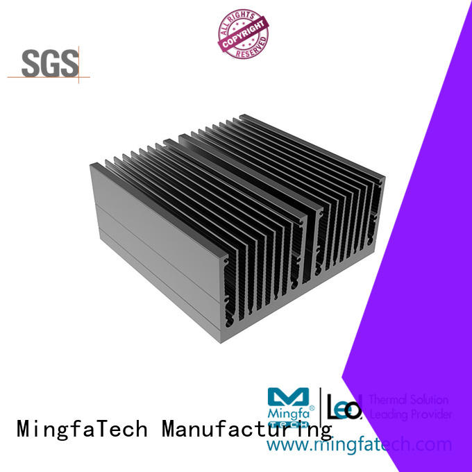 Mingfa Tech plating aluminum heatsinks manufacturer for landscape