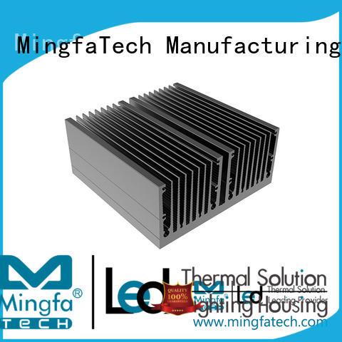 Mingfa Tech lamp metal heat sink supplier for landscape