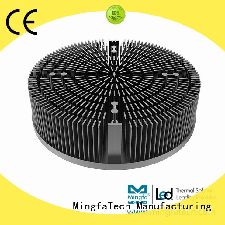 Mingfa Tech al1070 aluminium heatsink extrusion design for roadway