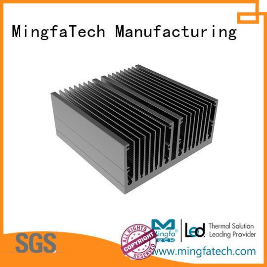 Mingfa Tech die-casting metal heat sink supplier for landscape