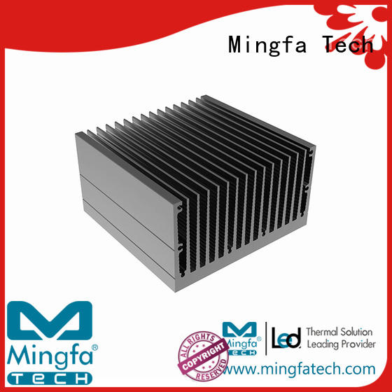 aluminum extruded large  aluminium Mingfa Tech