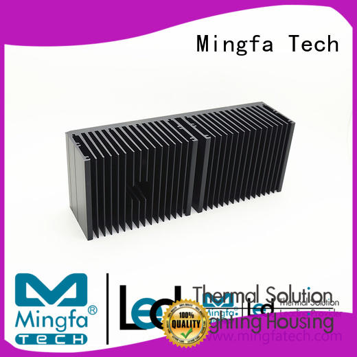 Mingfa Tech metal stamping big heat sink manufacturer for landscape