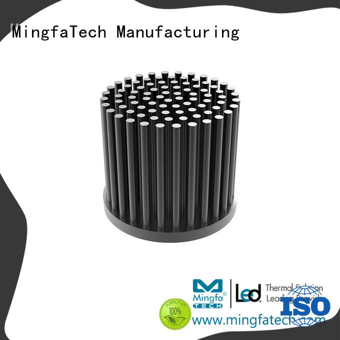 round led heatsink housing manufacturer for parking lot Mingfa Tech