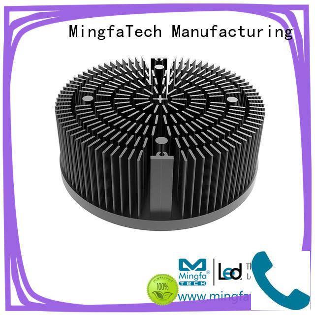 heat sink fin design smd light Mingfa Tech Brand passive heat sink